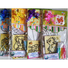 DIY Colouring Bag with Sand Art Set