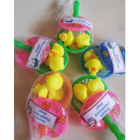 Mini Rubber Duckie Set with Tag