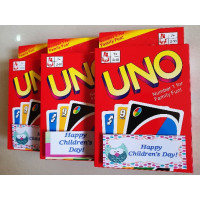 Uno Cards with Children's Day Tag