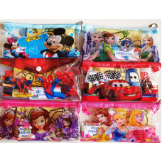 Cartoon Pencil Case with Mini Sandart