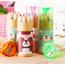 Roller Colouring Pencil Set