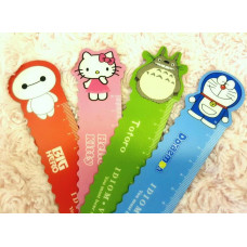 Magnetic Cartoon Rulers