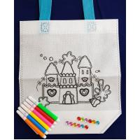 DIY Colouring Bag