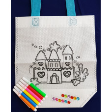DIY Colouring Bag