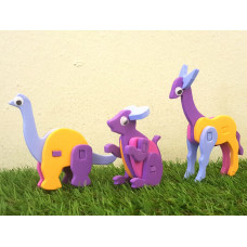 Foam Art Animal Puzzle