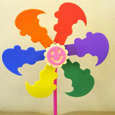 DIY Craft for Kids - Windmill