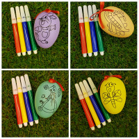 Colouring Egg Craft