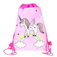 Unicorn Full Body Drawstring Bag