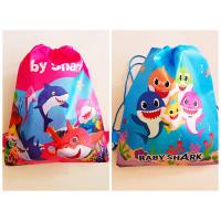 Baby Shark Drawstring Bags