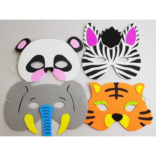 Buy Cute Animal Face Masks For Kids!|Perfect as Goodie Gifts