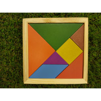 Tangram Educational Puzzle