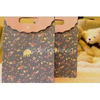 Purple Elephant Paper Gift Bag