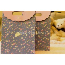 Purple Elephant Paper Gift Bag