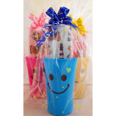 Smiley Cup Pencil Case Pack