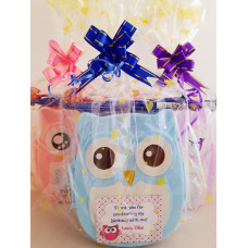Owl Lunchbox with Snacks