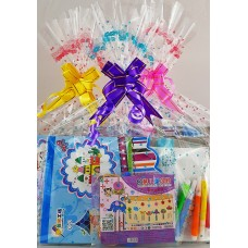 Colouring Bag and Windchime Craft Set