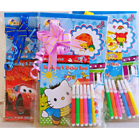 Colouring Bag Book Set