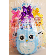 Owl Lunchbox and Stickers Pack