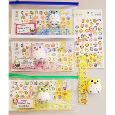 Owl Stationery Pack