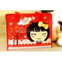 Little Girl Red Goodie Bag