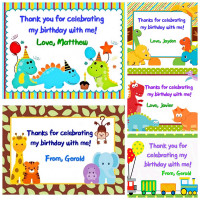 Customized Birthday Tags