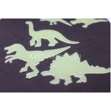 Glow-in-the-Dark Dinosaur Wall Stickers