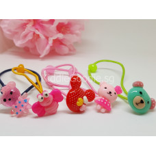 Cartoon Korean Hair Rubber Bands