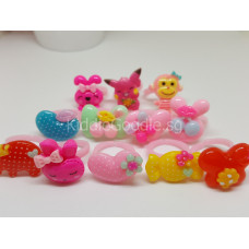 Cartoon Korean Rings